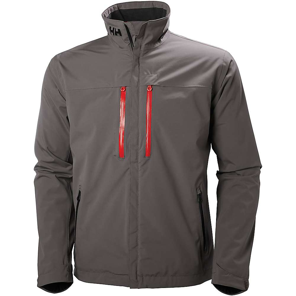 Helly Hansen Men's Crew H2Flow Jacket - Medium - Dark Gull Grey