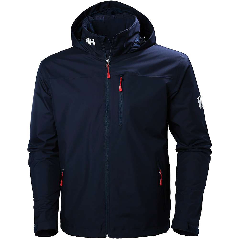 Helly Hansen Men's Crew Hooded Midlayer Jacket - Large - Navy