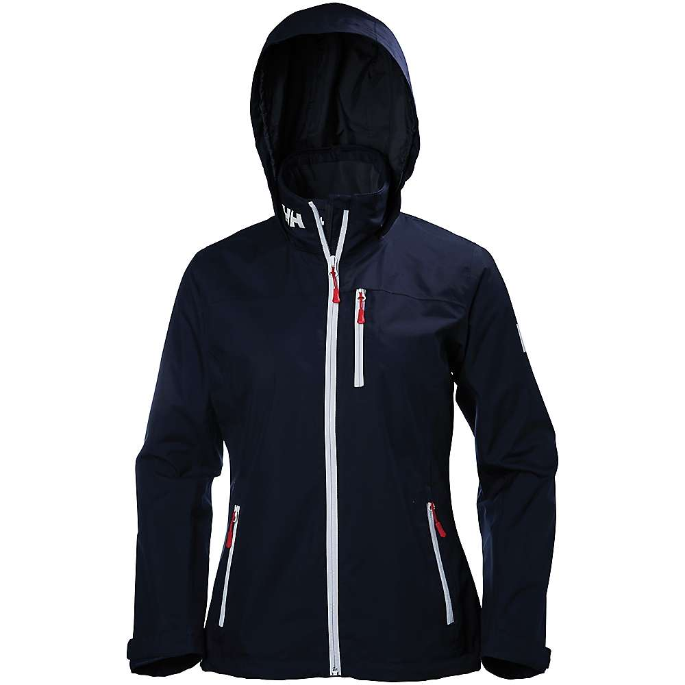 Helly Hansen Women's Crew Hooded Midlayer Jacket - Large - Navy