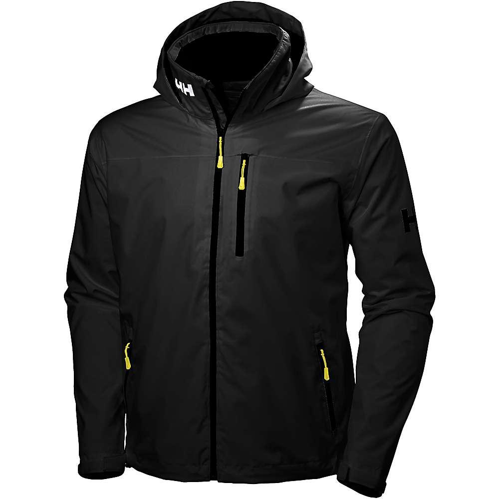 Helly Hansen Men's Crew Hooded Jacket - Medium - Black