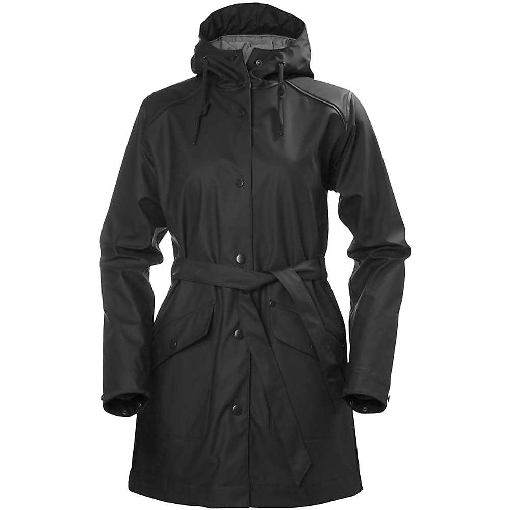Helly Hansen Women's Kirkwall Rain Coat - Medium - Black