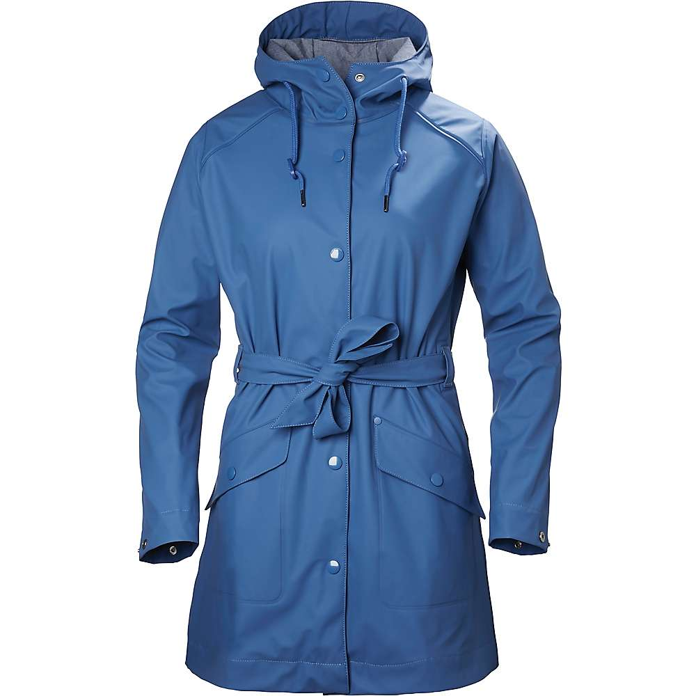 Helly Hansen Women's Kirkwall Rain Coat - Medium - Stone Blue