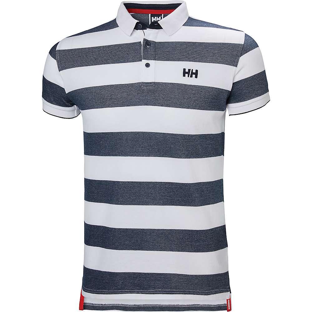 Helly Hansen Men's Mastrand Polo - Small - S18 Navy Stripe