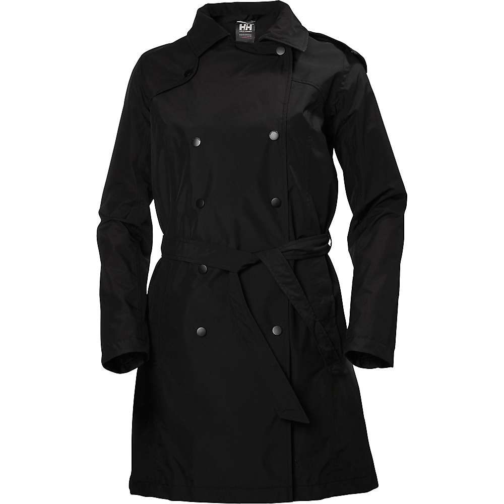 Helly Hansen Women's Wellington Trench - Medium - Black