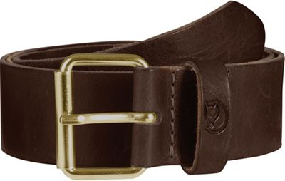 Fjallraven Singi 4.0cm Belt - 75cm - Leather Brown