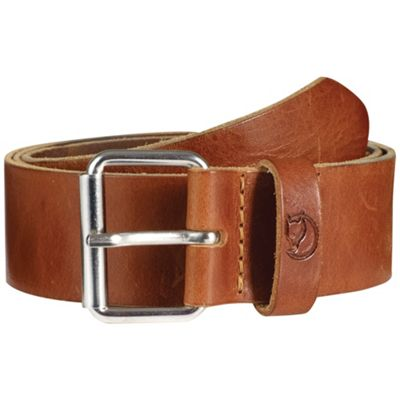 Fjallraven Singi 4.0cm Belt - 110cm - Leather Cognac