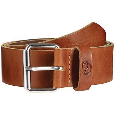 Fjallraven Singi 4.0cm Belt - 95cm - Leather Cognac