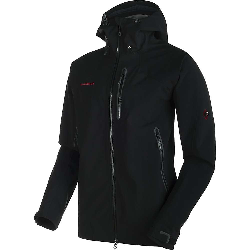 Mammut Men's Masao Jacket - XL - Black / Black