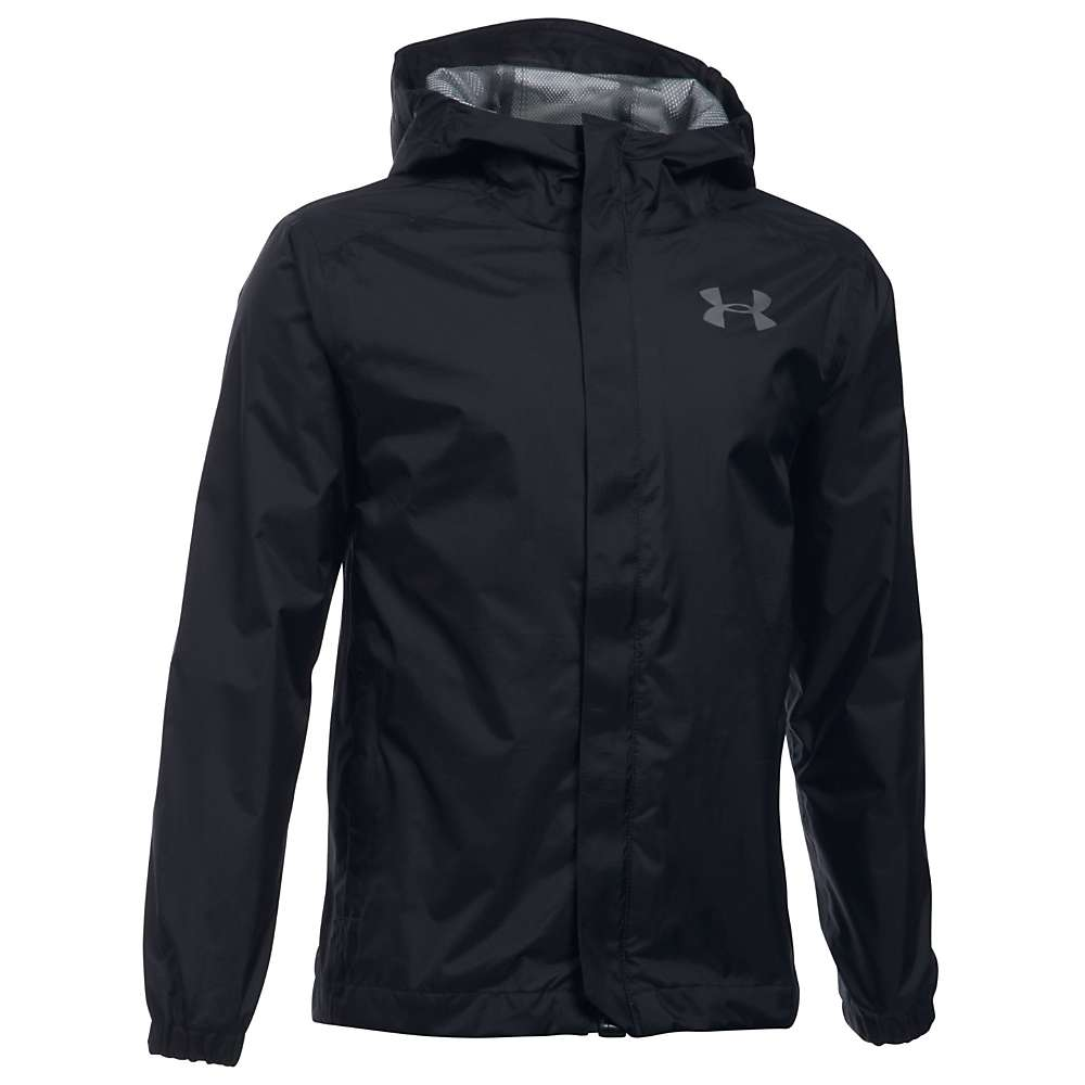 Under Armour Boys' UA Bora Jacket - Small - Black / Graphite / Graphite