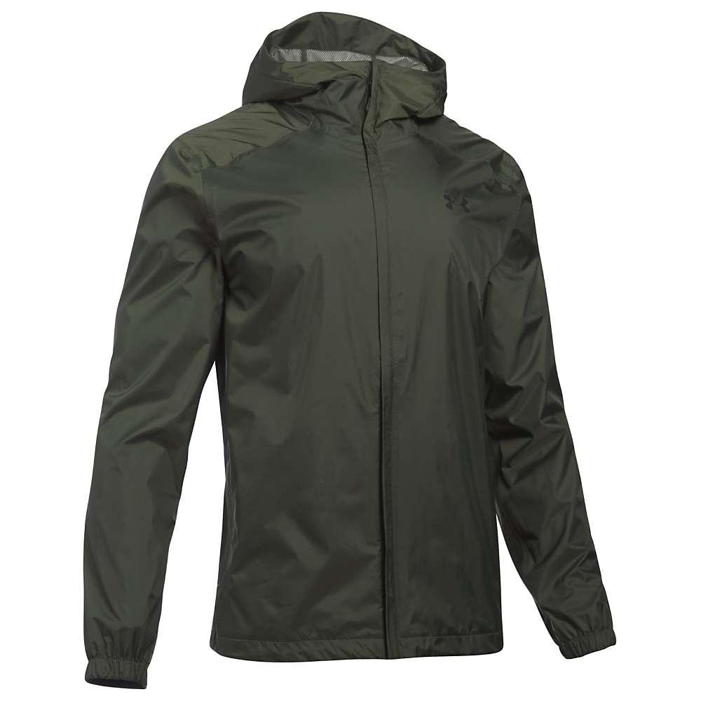 Under Armour Men's UA Bora Jacket - XL - Downtown Green / Downtown Green / Black