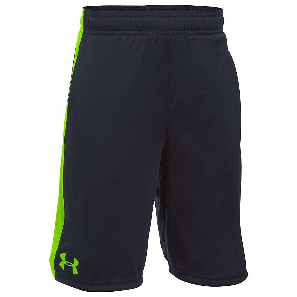 Under Armour Boys' UA Eliminator Short - XL - Black / Fuel Green / Fuel Green