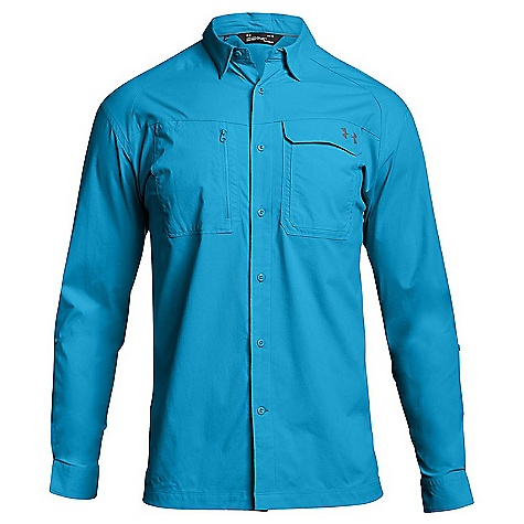 Under Armour Men's UA Fish Hunter LS Solid Shirt 4215335