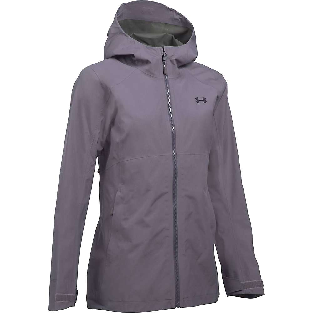 Under Armour Women's UA Hurakan Paclite Jacket - Small - Flint / Flint / Imperial Purple