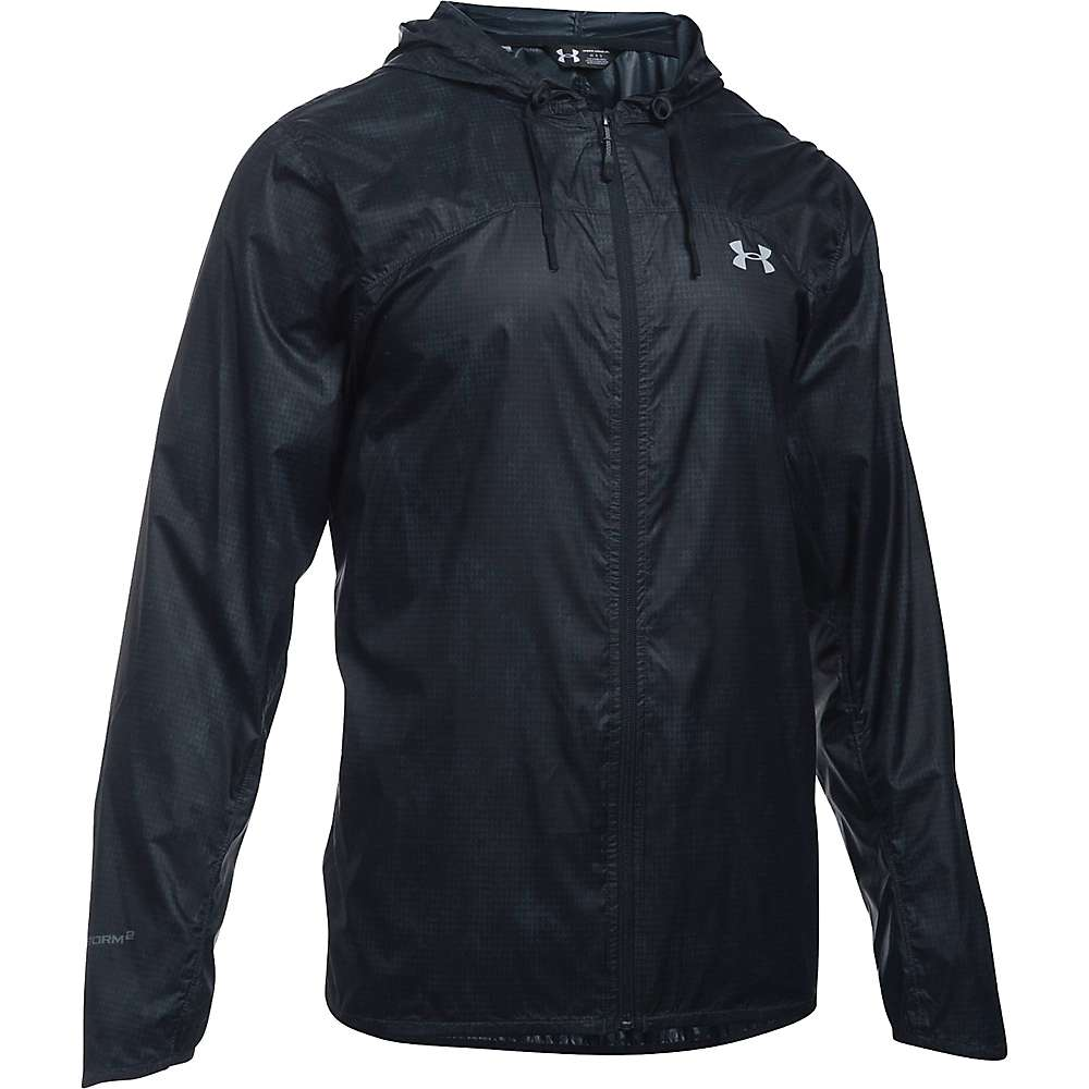 Under Armour Men's UA Leeward Windbreaker Jacket - XL - Stealth Grey / Black / Overcast Grey