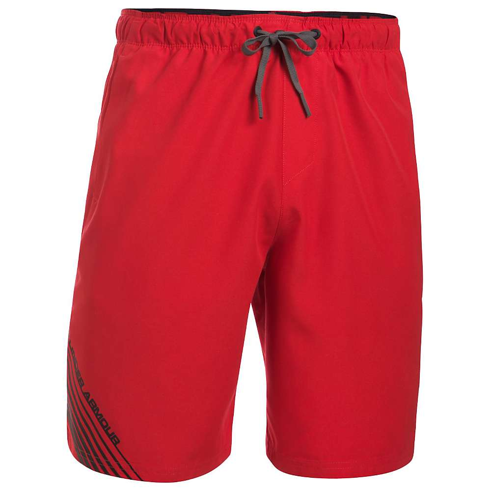 Under Armour Men's UA Mania Volley Short - XL - Red / Graphite / Black