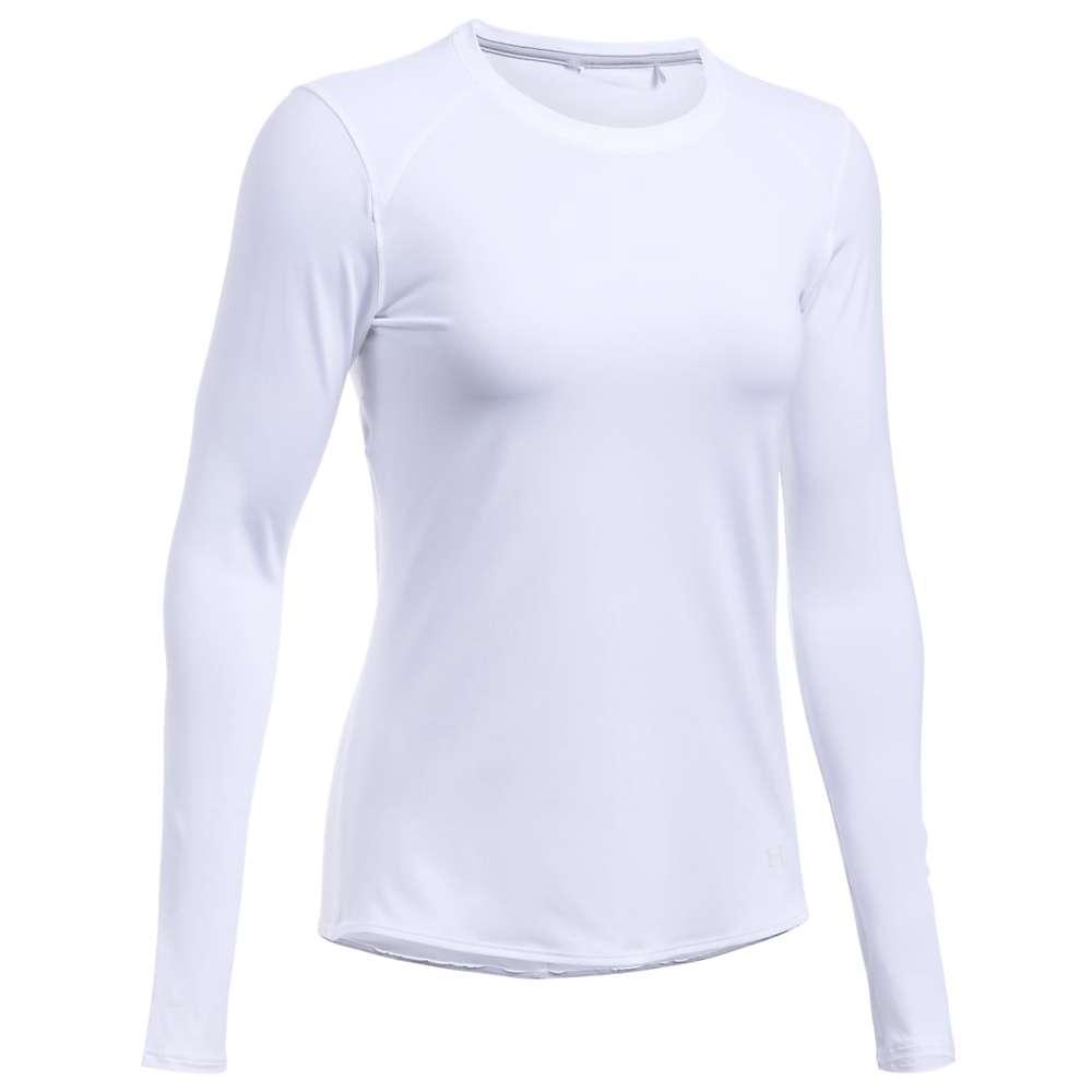 Under Armour Women's UA Sunblock LS Tee - XL - White / White