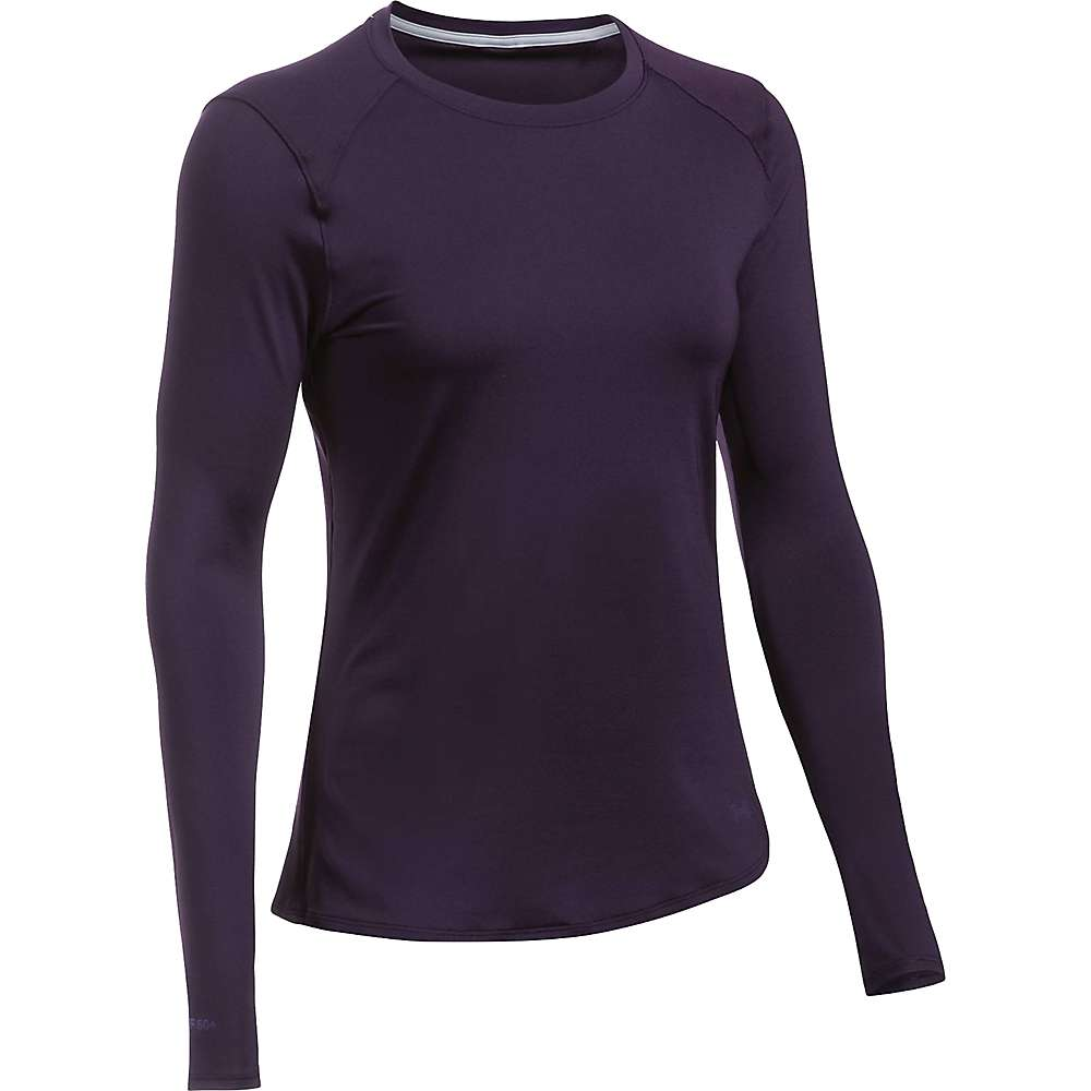 Under Armour Women's UA Sunblock LS Tee - Small - Imperial Purple / Imperial Purple