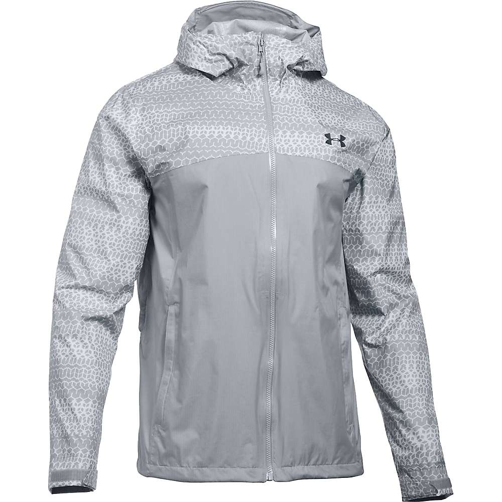 Under Armour Men's UA Surge Jacket - XL - Overcast Grey / Stealth Grey