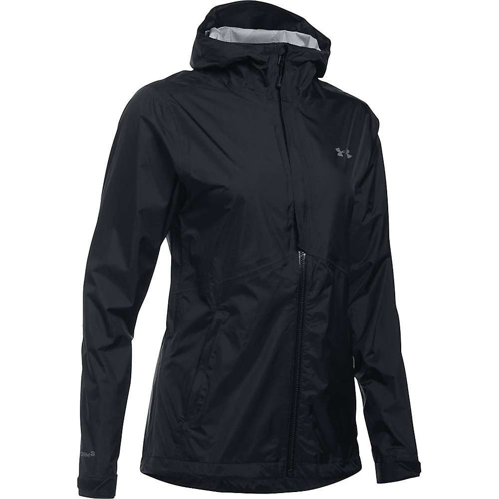 Under Armour Women's UA Surge Jacket - Small - Black / Black / Graphite
