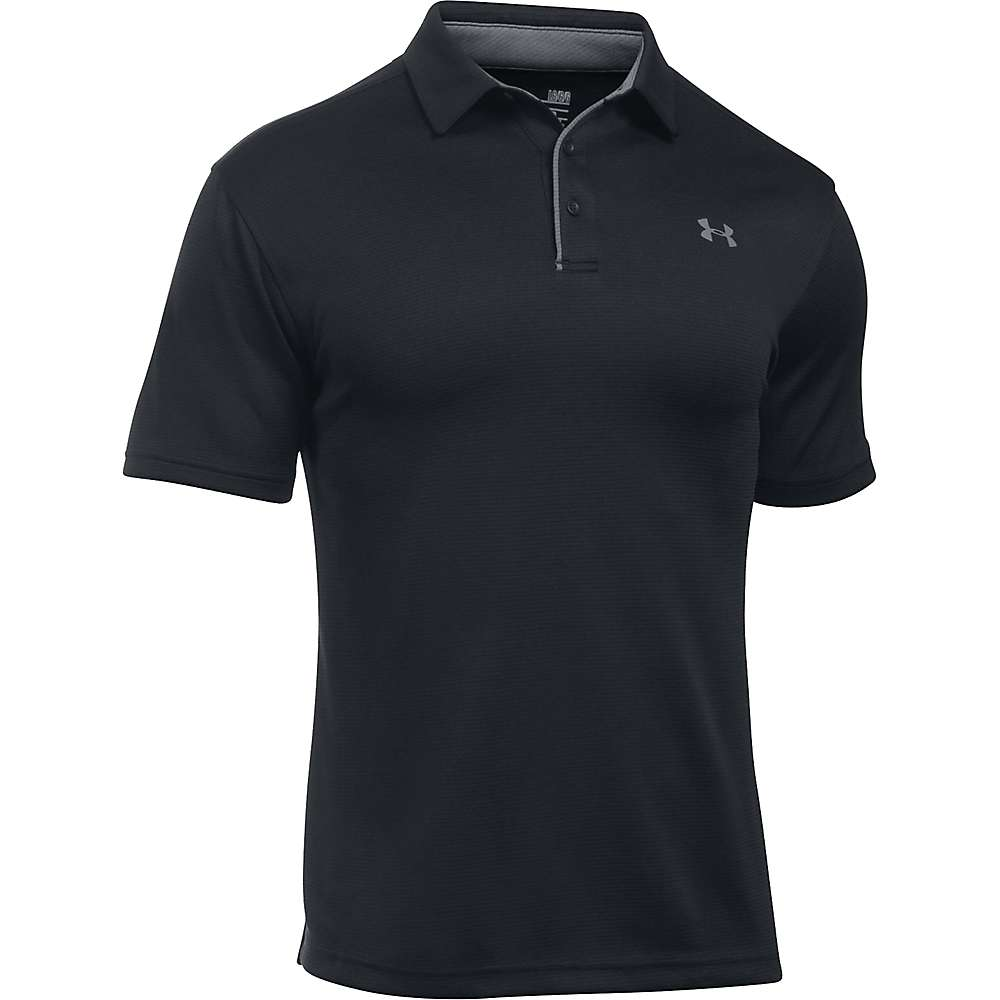 Under Armour Men's UA Tech Polo - XL - Black / Graphite / Graphite