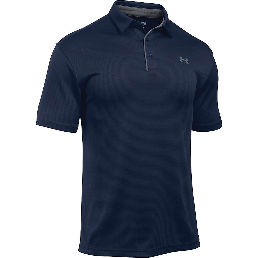 Under Armour Men's UA Tech Polo - XXL - Midnight Navy / Graphite / Graphite