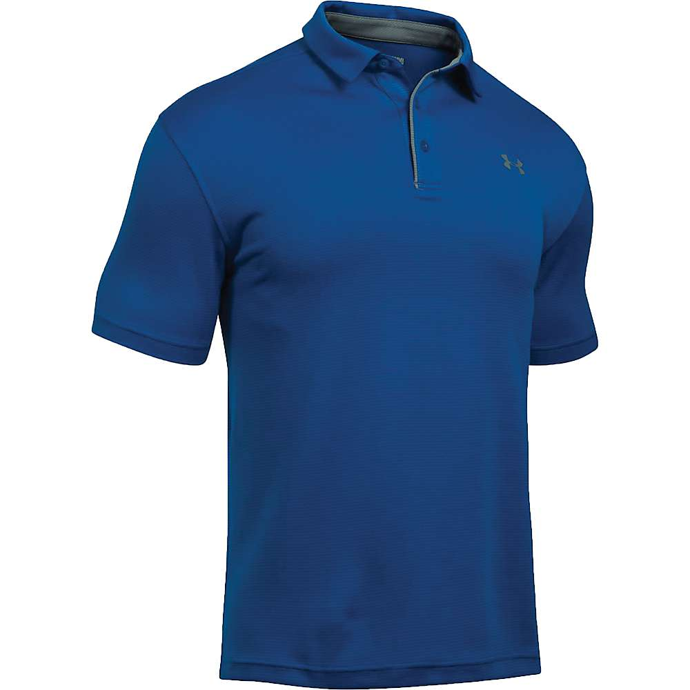 Under Armour Men's UA Tech Polo - XXL - Royal / Graphite / Graphite
