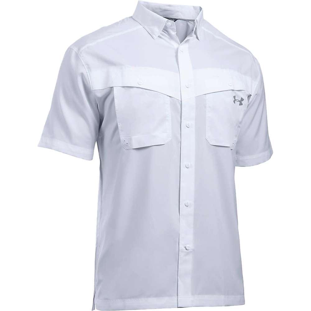 Under Armour Men's UA Tide Chaser SS Shirt - XL - White / Steel