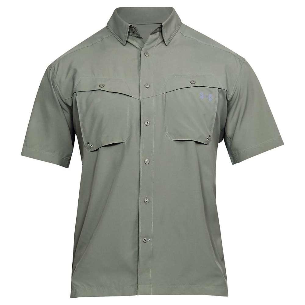 Under Armour Men's UA Tide Chaser SS Shirt - XL - Moss Green / Steel