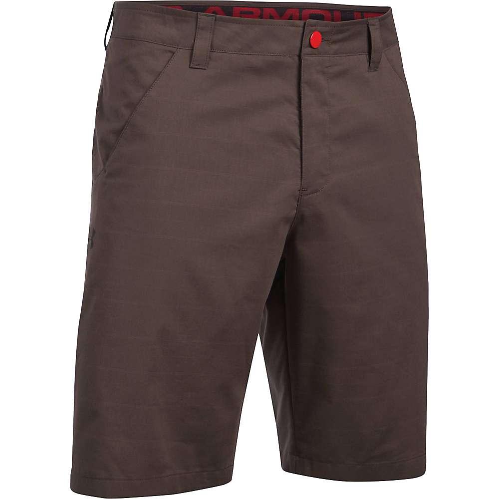 Under Armour Men's UA Turf Tide Short - 32 - Maverick Brown / Red / Black