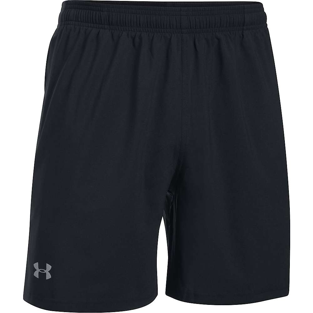 Under Armour Men's UA Launch Woven Short - Small - Black / Black / Reflective