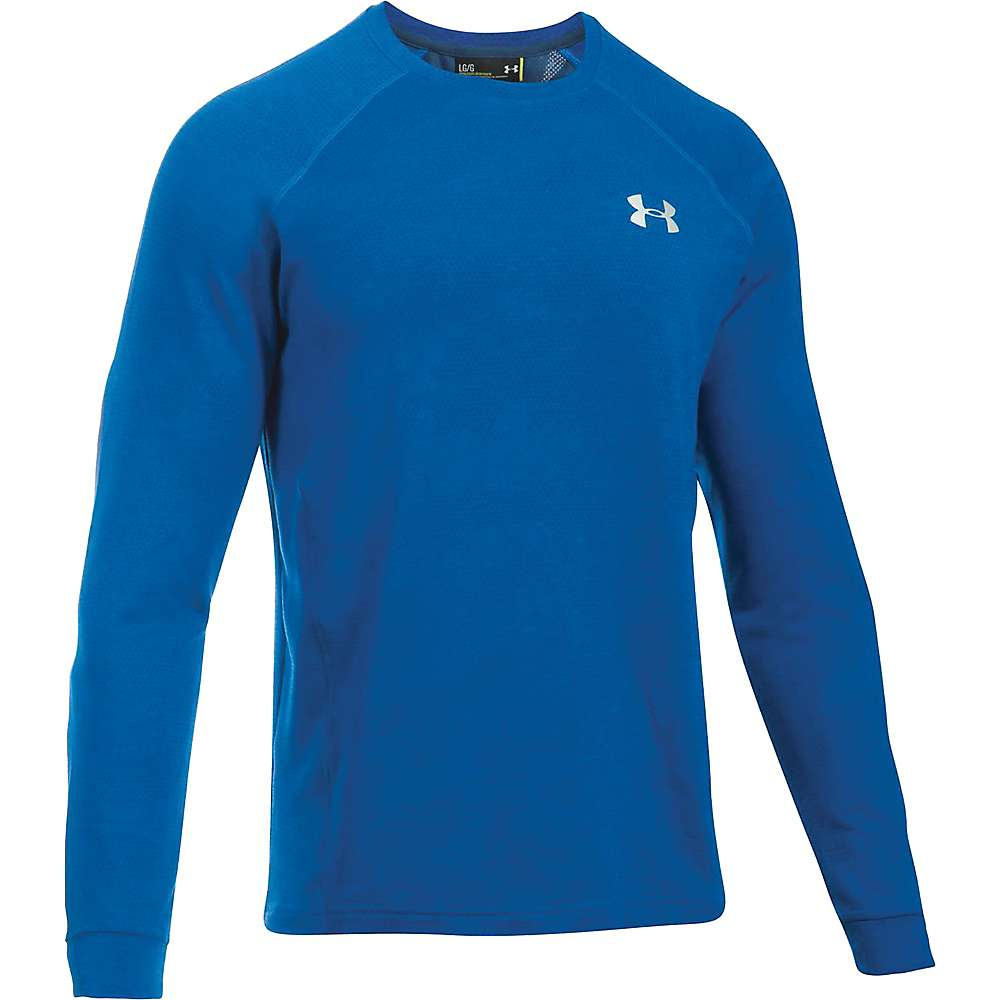 Under Armour Men's UA Tech Terry Crew Neck Top - XL - Graphite / Graphite / Silver