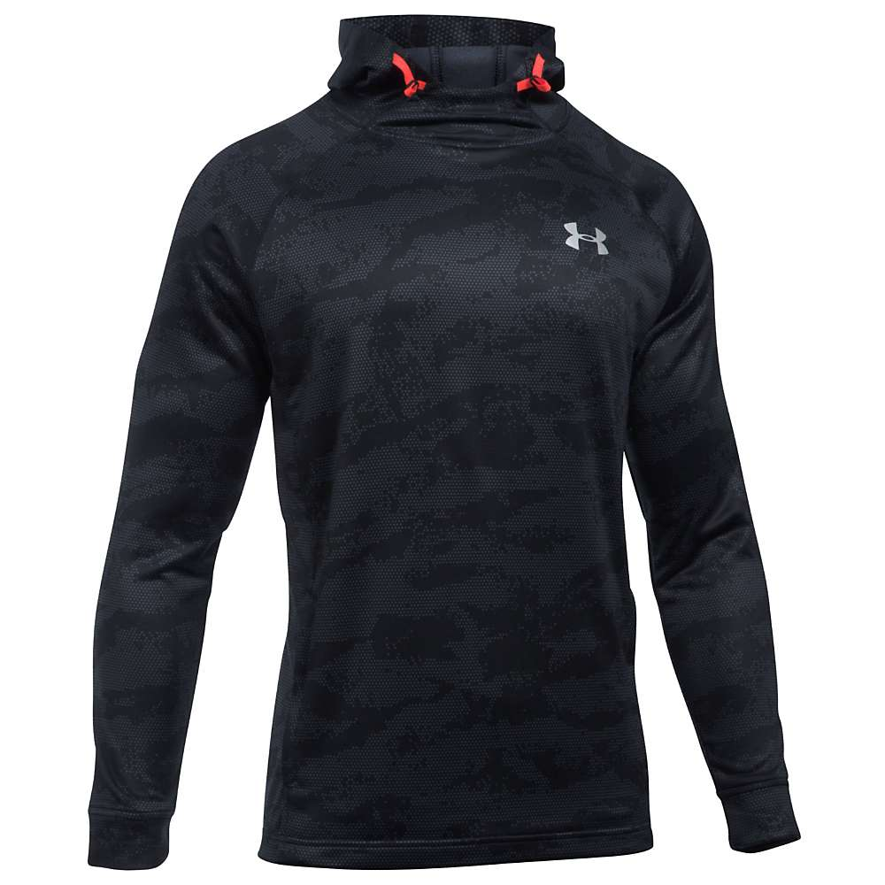 Under Armour Men's UA Tech Terry Popover Hoodie - XXL - Black / Black / Silver 002