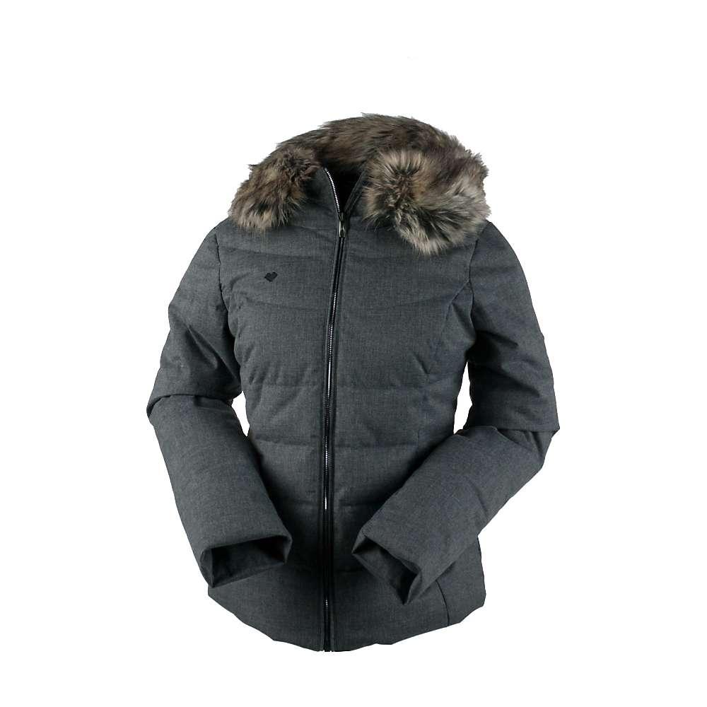 Obermeyer Women's Bombshell Jacket - 4 - Light Heather Grey