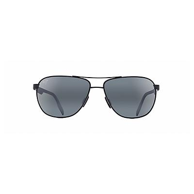 Maui Jim Castles Polarized Sunglasses - Matte Black / Neutral Grey