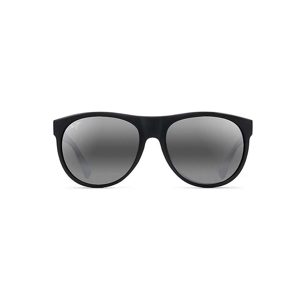 Maui Jim Rising Sun Polarized Sunglasses - One Size - Matte Black / Neutral Grey