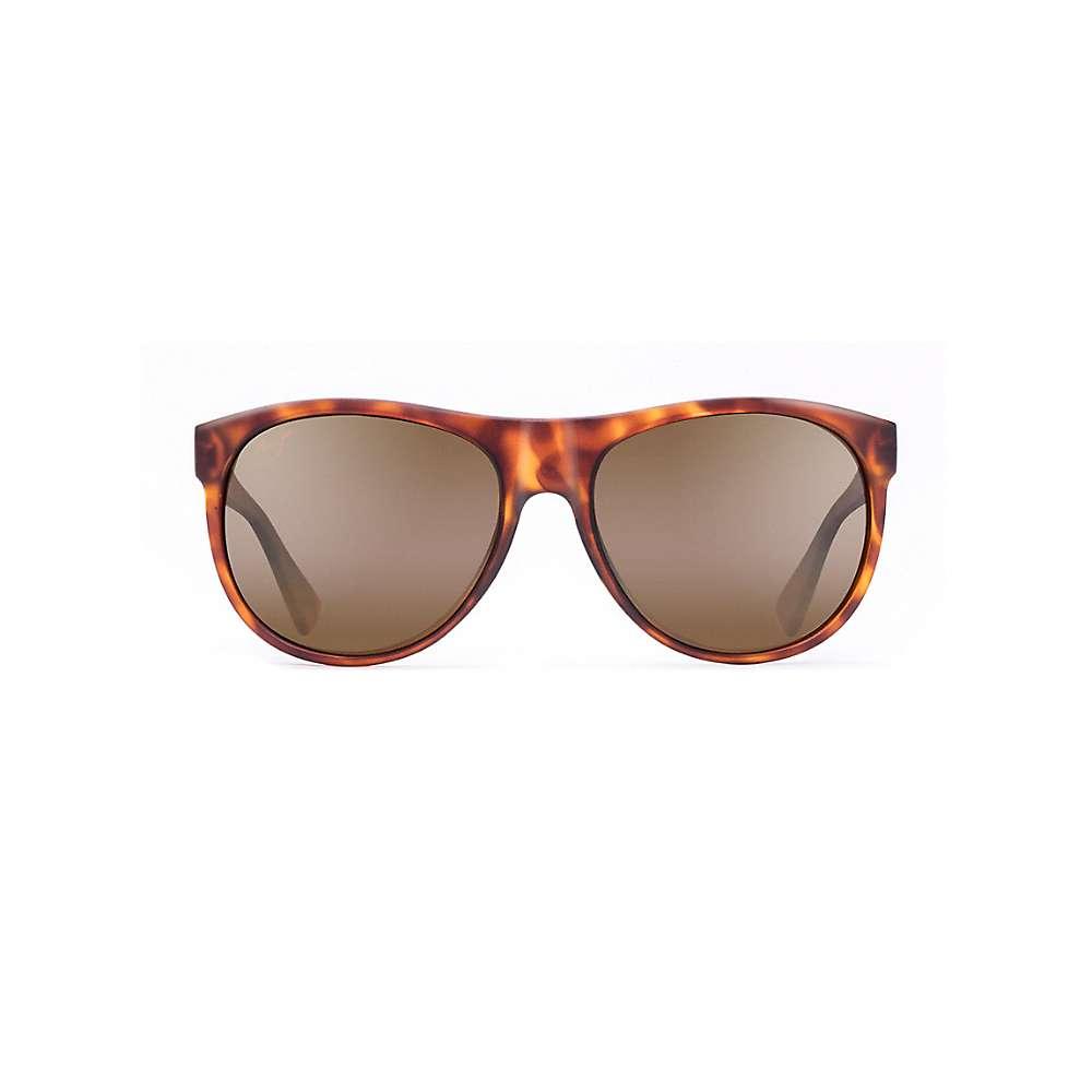 Maui Jim Rising Sun Polarized Sunglasses - One Size - Matte Tortoise / HCL Bronze