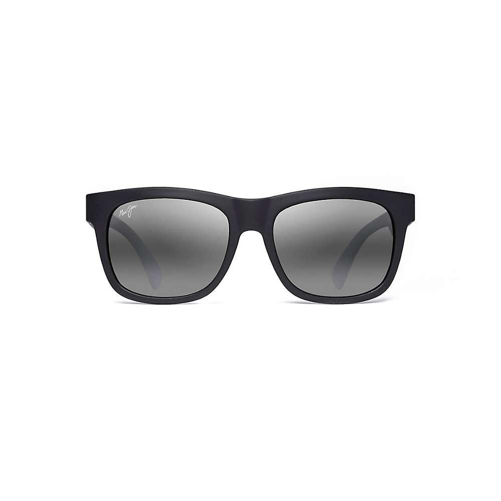 Maui Jim Snapback Polarized Sunglasses - One Size - Matte Black / Neutral Grey