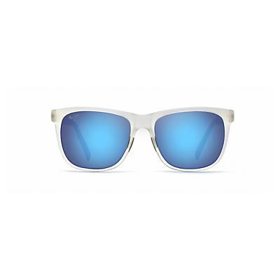 Maui Jim Tail Slide Polarized Sunglasses - Frosted Crystal / Blue Hawaii
