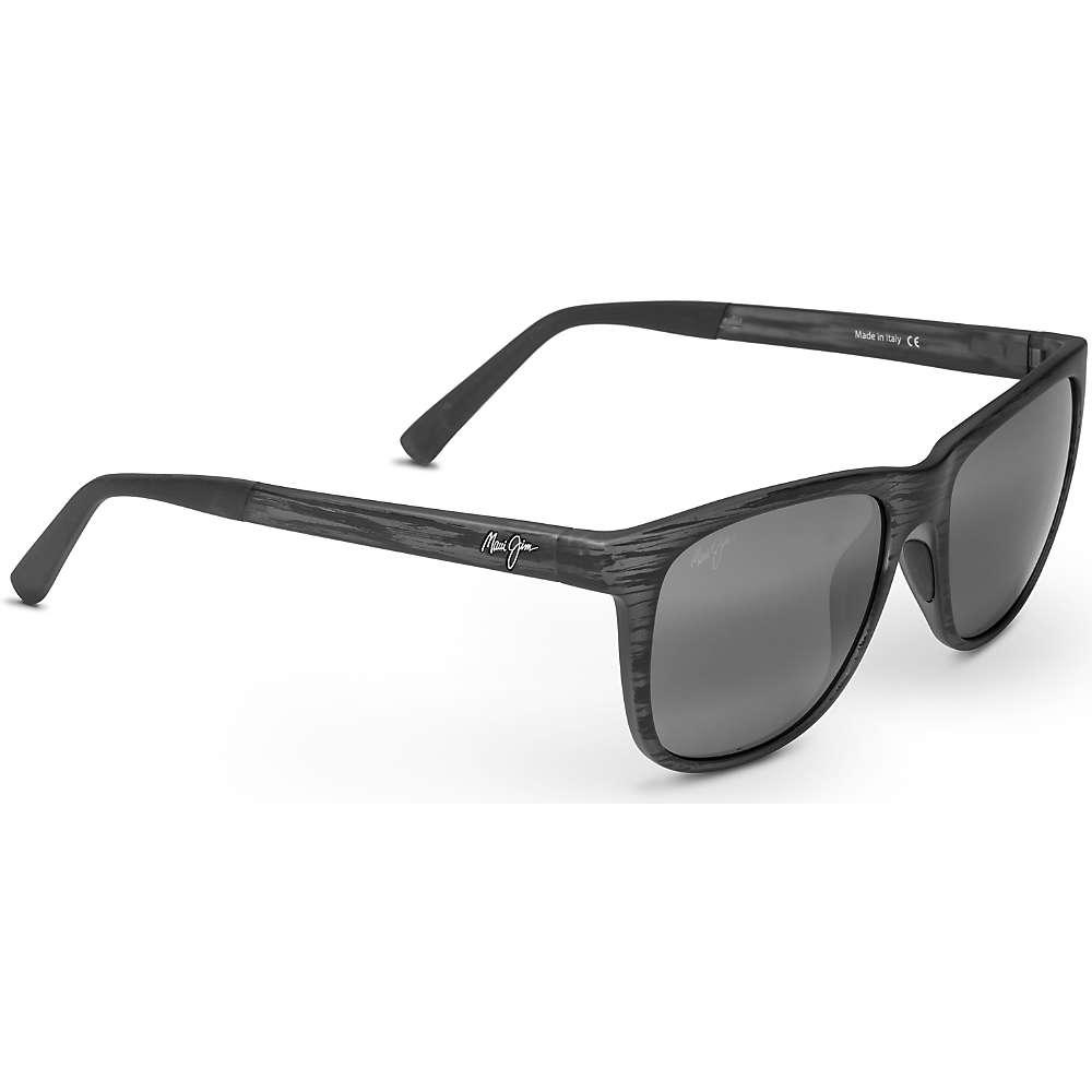 Maui Jim Tail Slide Polarized Sunglasses - One Size - Matte Grey Stripe / Neutral Grey