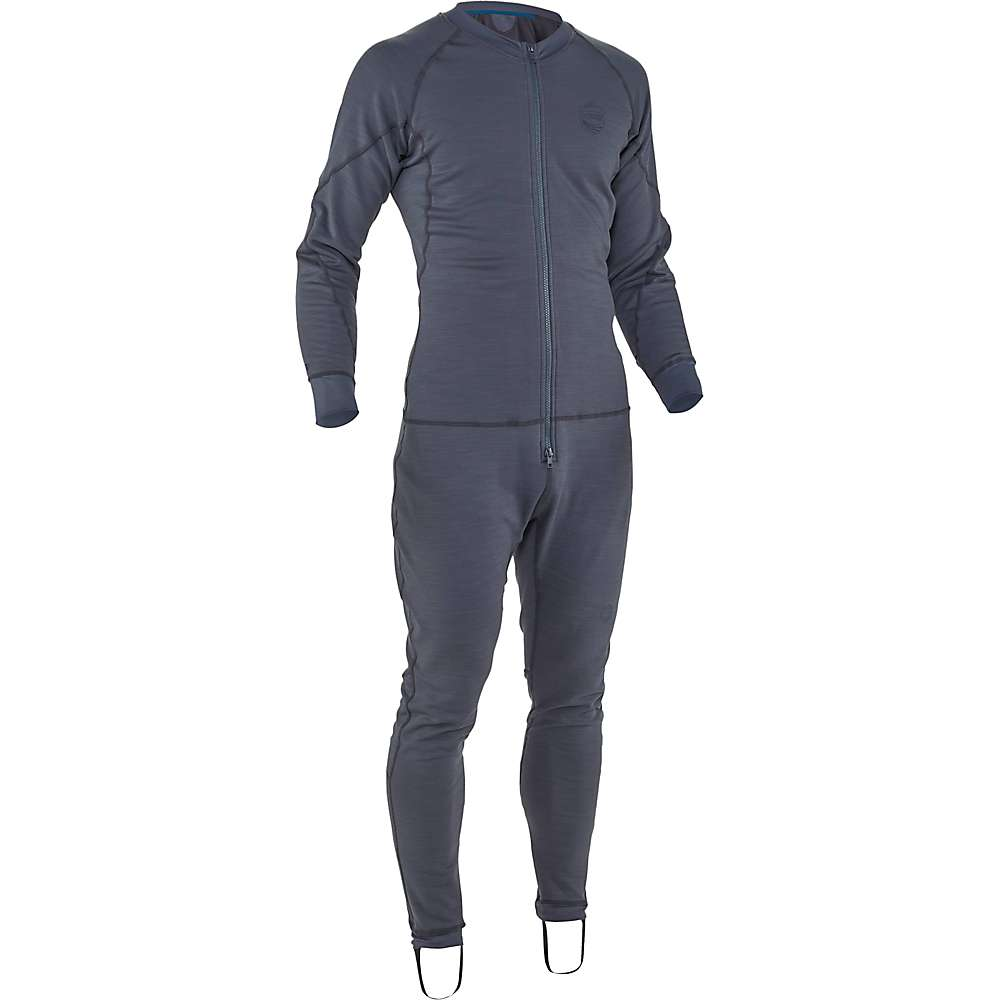 Compare NRS Expedition Union Suit - Small - Dark Shadow