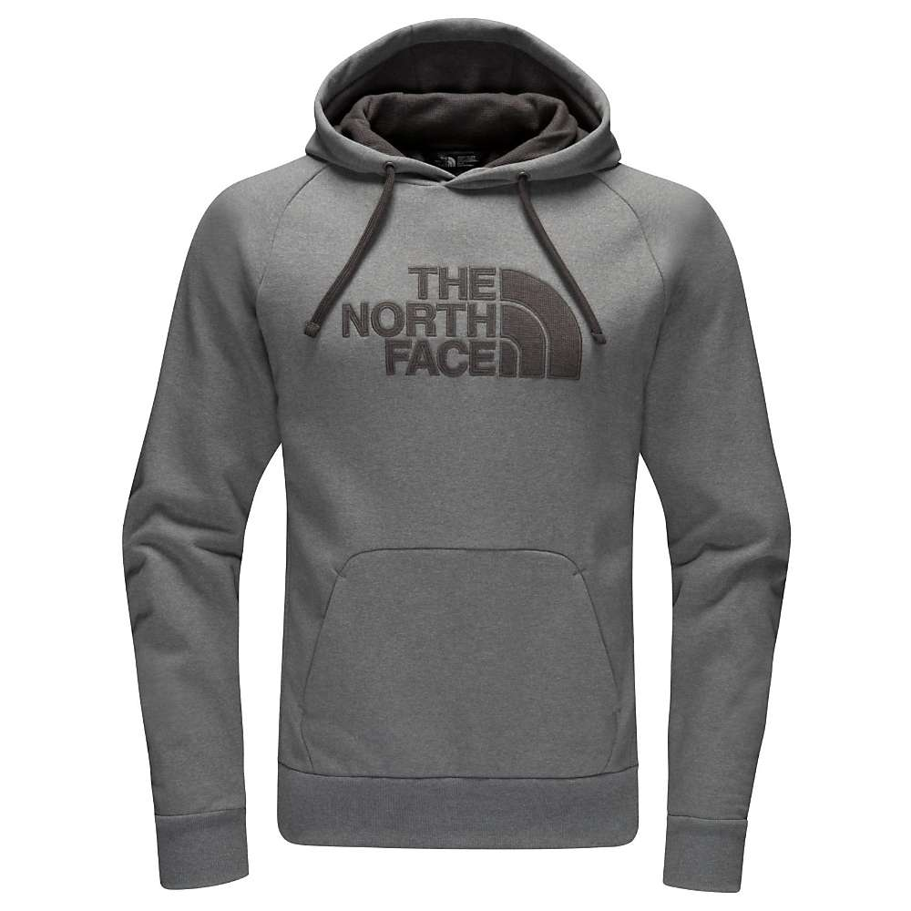 The North Face Men's Avalon Half Dome Waffle Hoodie - XL - TNF Medium Grey Heather / Asphalt Grey