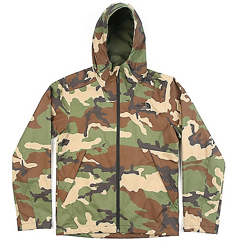 The North Face Men's Millerton Jacket Terrarium Green Woodland Camo Print