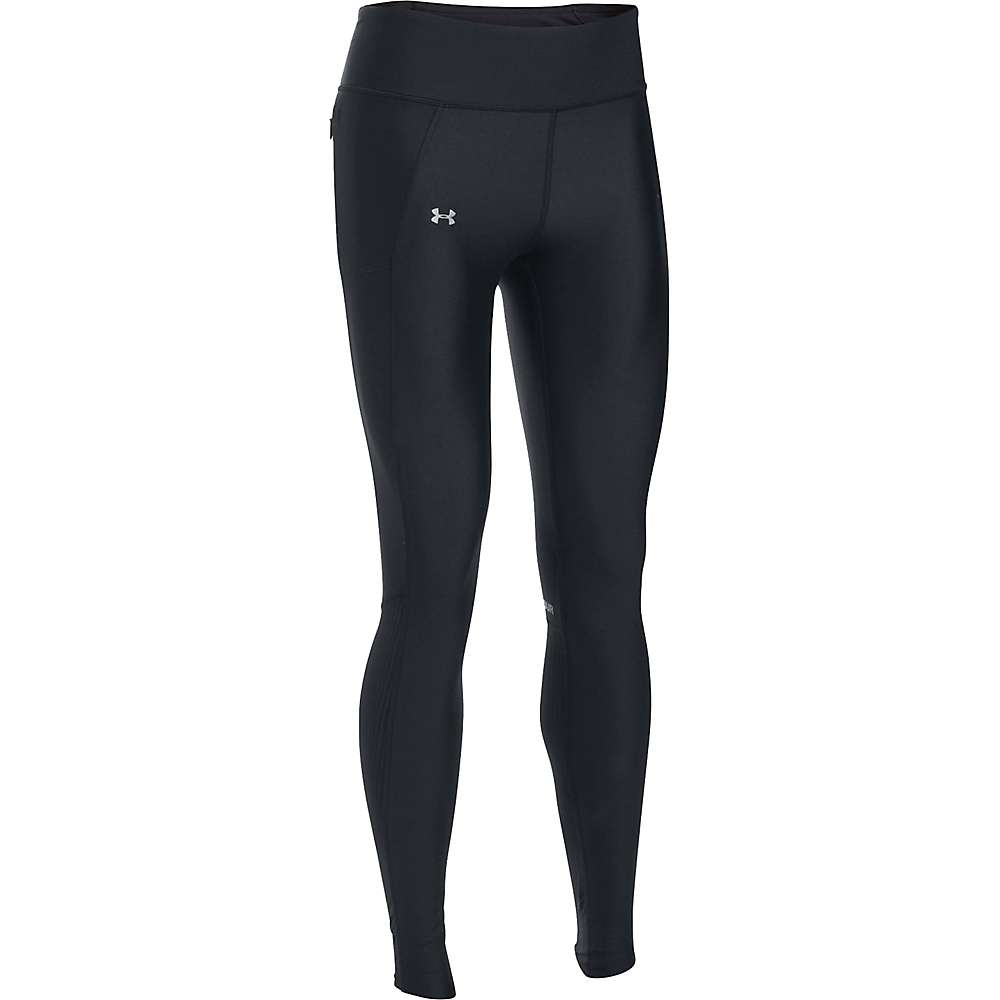 Under Armour Women's Fly By Legging - Medium - Black / Black / Reflective