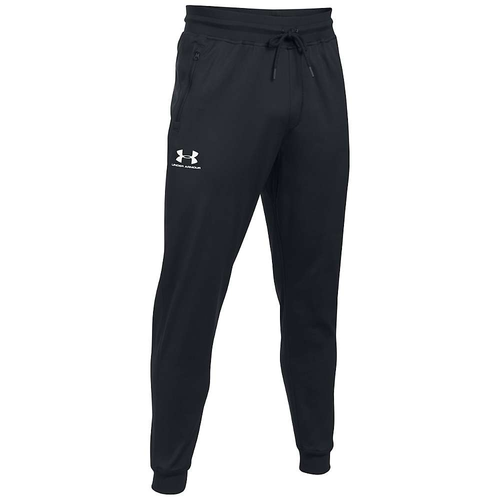 Under Armour Men's Sportstyle Jogger Pant - Medium - Black / White