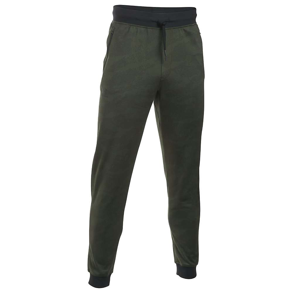 Under Armour Men's Sportstyle Jogger Pant - Small - Downtown Green / Black / Silver