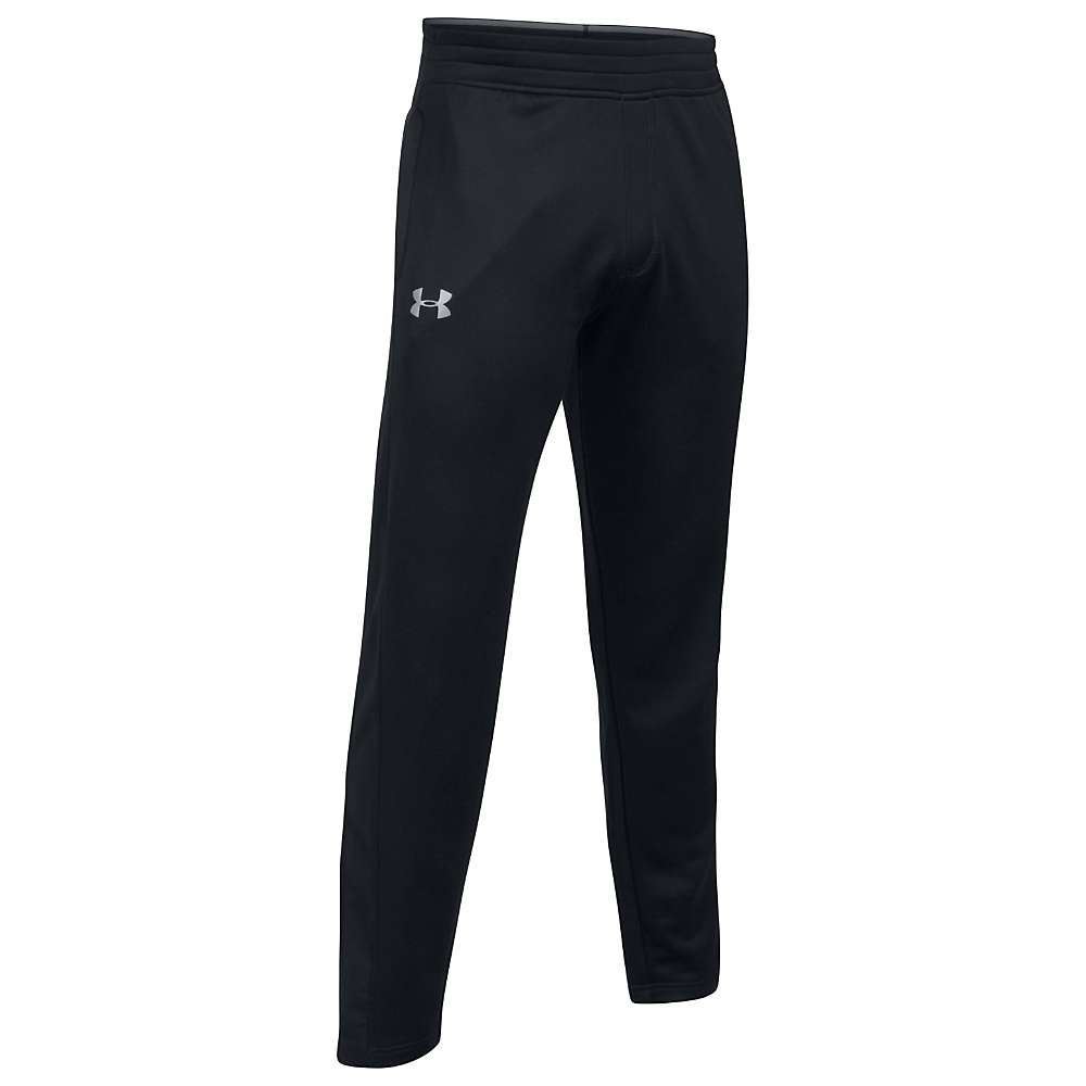 Under Armour Men's Tech Terry Pant - Large - Black / Black / Silver