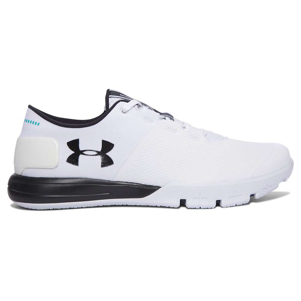 Under Armour Men's UA Charged Ultimate TR 2.0 Shoe - 7.5 - White / Black / Black