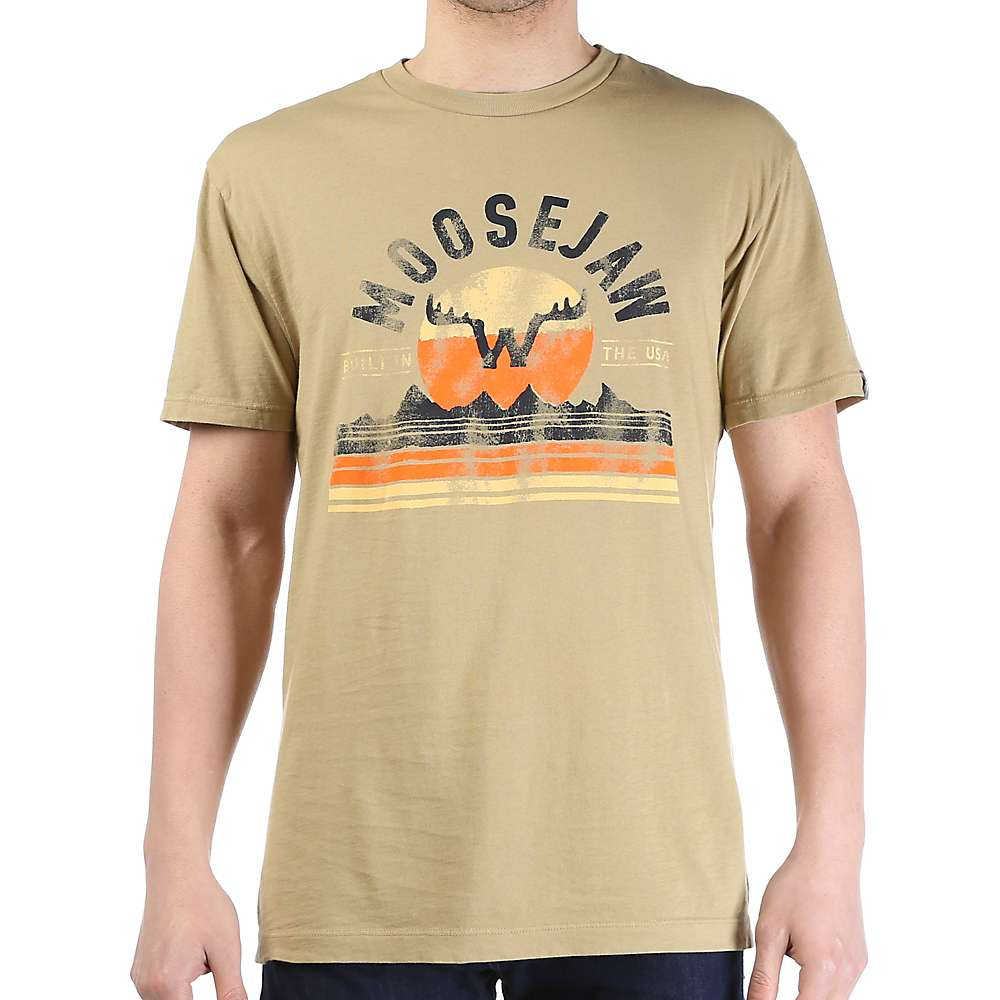 Moosejaw Men's Good Vibrations Classic Regs SS Tee - XXL - Sand