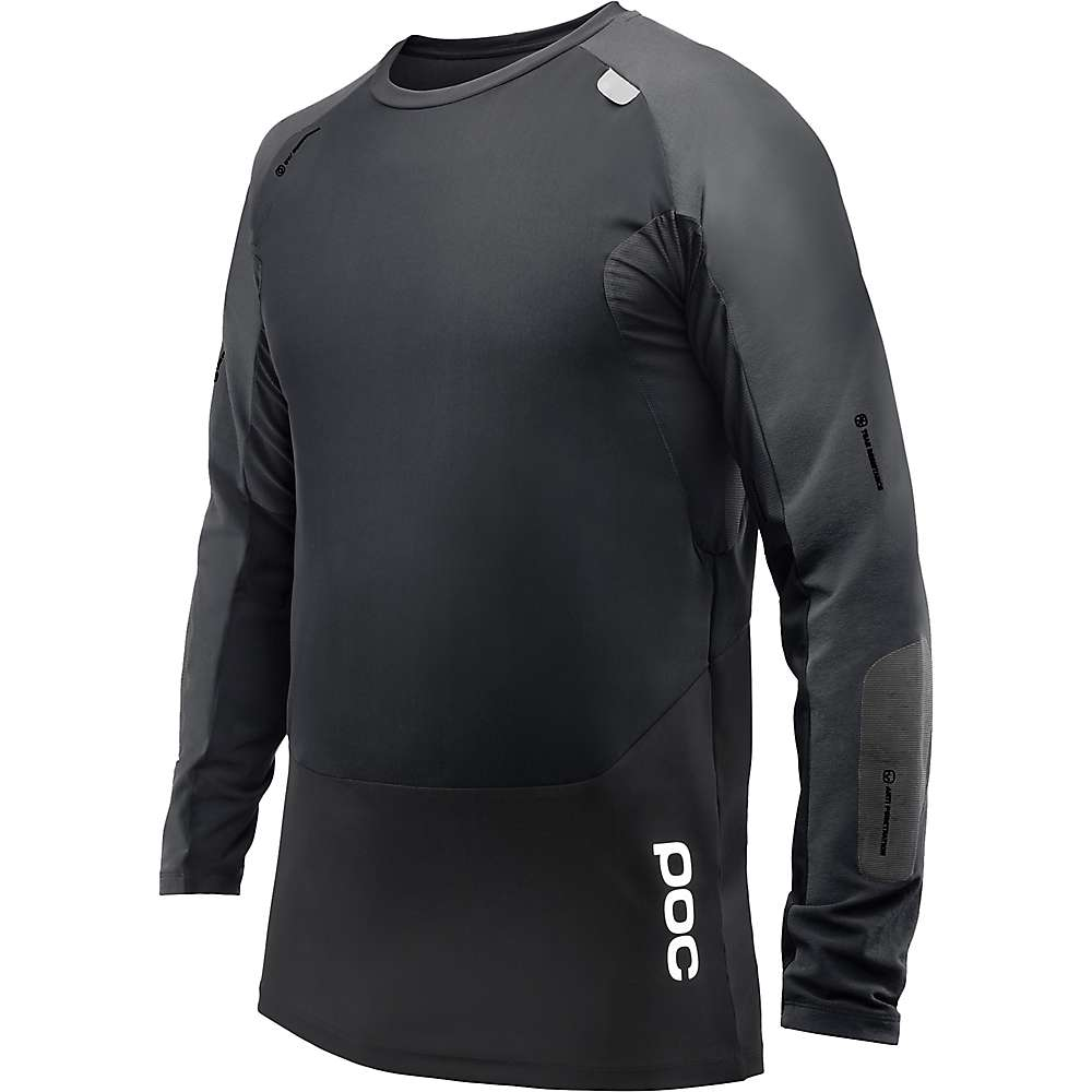 POC Sports Men's Resistance Pro DH Jersey - XS - Carbon Black