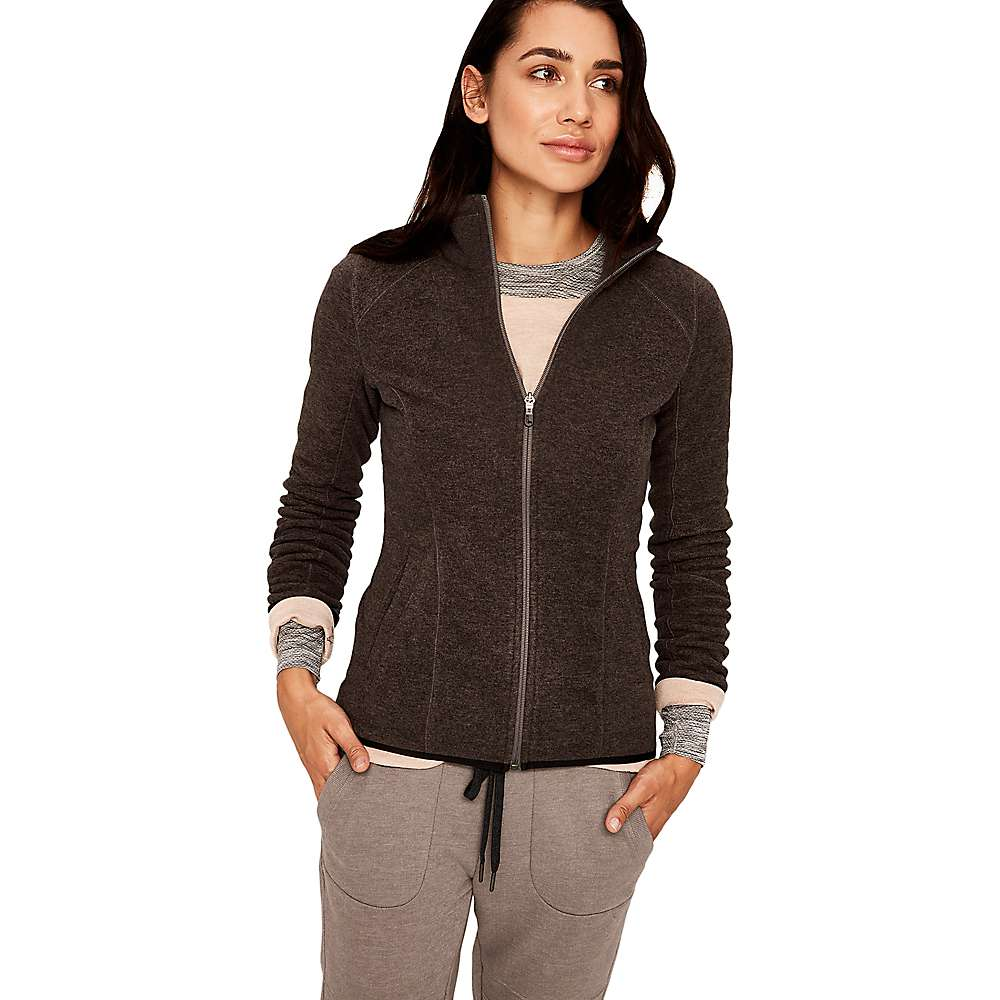 Lole Women's Interest Cardigan - Large - Dark Grey Heather